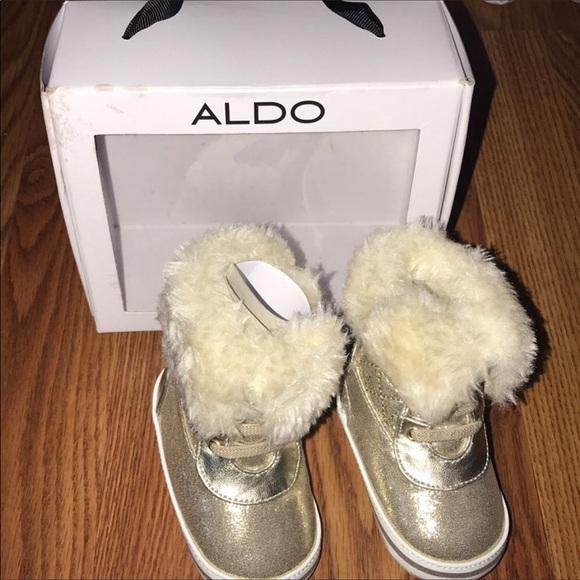 9d3d284aba Aldo Shoes | Glam Baby Boots | Poshmark